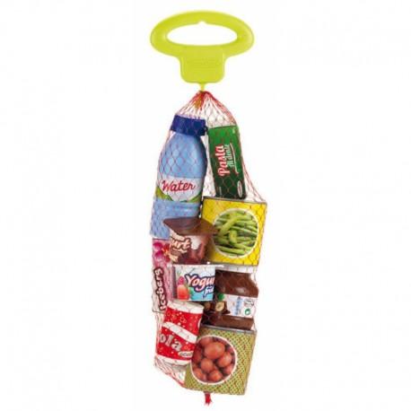 Zestaw produktów spożywczych - puszki i pudełeczka - Ecoiffier