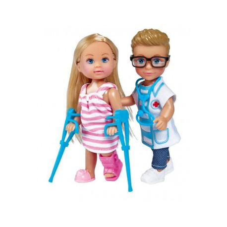 SIMBA Evi i Timmy Wizyta u Lekarza 2 Lalki