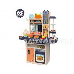 Multifunkcyjna beżowa Kuchnia Z Piekarnikiem, Lodówką I Płytą Gazową