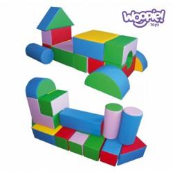 Woopie Zestaw Mega Paka klocków piankowych 25 elementów