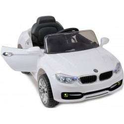 Samochód na akumulator ADL1588 biały