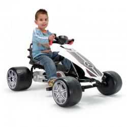 Gokart na pedaly dla dzieci Mercedes Injusa