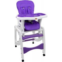 Krzesełko do karmienia 5w1 + stolik BABYMAXI ZIELONE