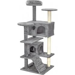 Drapak dla kota 7 poziomow szary