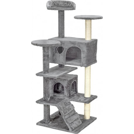 Drapak dla kota 7 poziomow bezowy