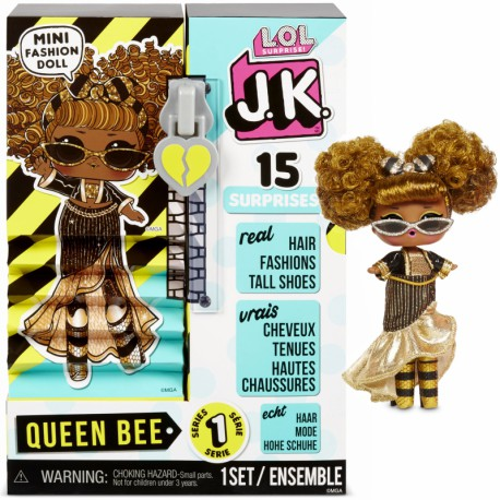 MGA L.O.L. Surprise J.K. Doll- Laleczka Queen Bee