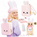 MGA Na! Na! Na! Surprise - Lalka 3w1 Pink + Poopsie Magiczny Zestaw Brokat