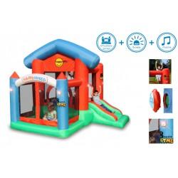 Dmuchaniec HappyHop - interaktywny dmuchany domek - Happy House