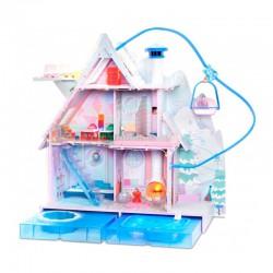 L.O.L Surprise OMG Cottage- Duży Zimowy Domek Kurort