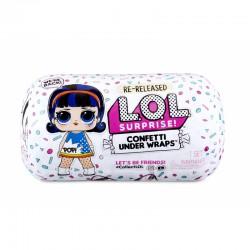 L.O.L. Surprise Confetti Under Wraps Kapsuła Urodzinowa Niespodzianka