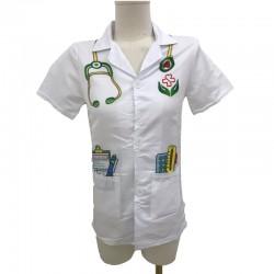 WOOPIE Ubranko Strój Lekarza Doktora dla Dzieci do ok. 120 cm