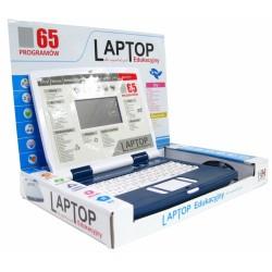 LAPTOP EDUKACYJNY 65 PROGRAMÓW Z USB PL + SPINNER GRATIS