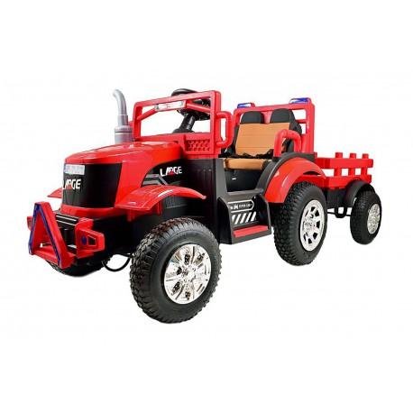 Wielki Mega traktor na akumulator 12 V, 7 AH dla dzieci 198 cm