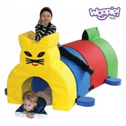 WOOPIE Zestaw Kształtek Tunel Kot