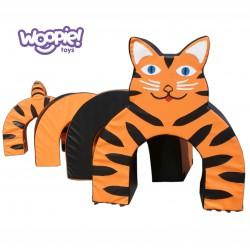 WOOPIE Zestaw Kształtek Tunel Tygrys