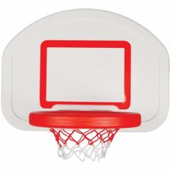 WOOPIE Koszykówka Klasyczna Wisząca Przenośna Pełnowymiarowa dla Prawdziwej Piłki