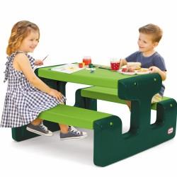 LITTLE TIKES Stolik Piknikowy do Ogrodu dla Dzieci Go Green