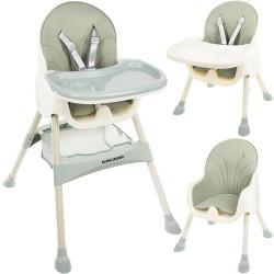Jasnozielone krzesełko do karmienia