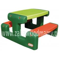LT Stolik Piknikowy Stół Zielono Czerwony