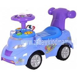 Pojazd odpychacz - samochód 9010072 niebieski