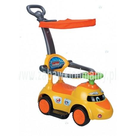 Pojazd, odpychacz - samochód, wózek 9340161-4 żółty